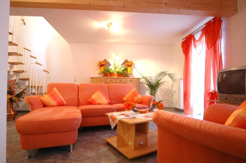 Schlafzimmer der Ferienwohnung 2 im Haus Sonnenschein